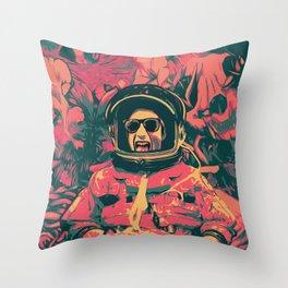 Rocket Man Throw Pillow