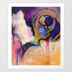 Lace & Spiral Art Print