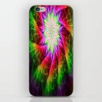 chakra iPhone & iPod Skins featuring Star Chakra by Muertorita
