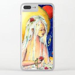 Water spirit Clear iPhone Case