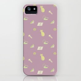 Cat & Mouse iPhone Case