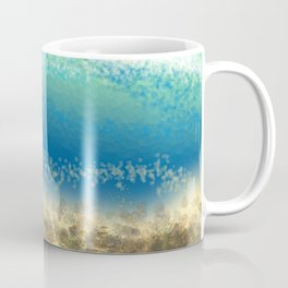 Abstract Seascape 04 wc Coffee Mug