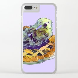Otter Pie Clear iPhone Case