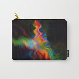 Dark Flame Fractal Carry-All Pouch