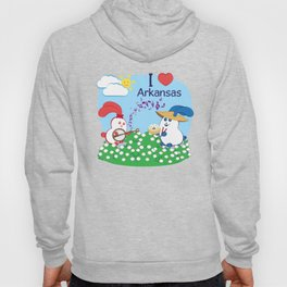 Ernest and Coraline | I love Arkansas Hoody