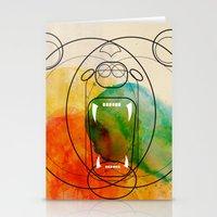 bear Stationery Cards featuring Bear by Alvaro Tapia Hidalgo