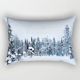 The magic of winter Rectangular Pillow