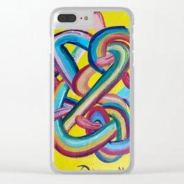 Formas en el espacio 3 Clear iPhone Case