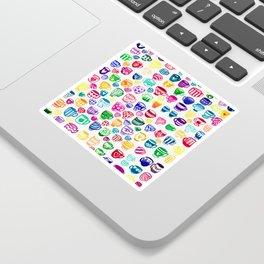 happy cuppas Sticker