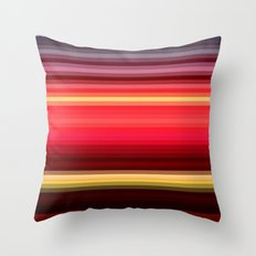 Re-Created Spectrum XLII by Robert S. Lee Throw Pillow