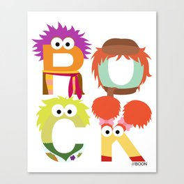 "A Fraggle ""ROCK"" Canvas Print"