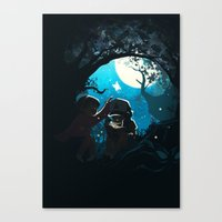 gravity falls Canvas Prints featuring Gravity by Larelley