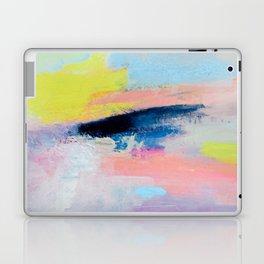 Dreamy Abstract pink Art  Laptop & iPad Skin