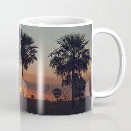Palmas al atardecer Coffee Mug