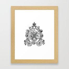 Concordia Salus Framed Art Print