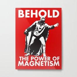 Damien Sandow Magneto Metal Print