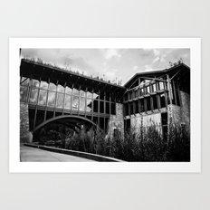 Heritage Center Art Print
