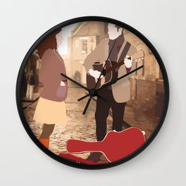 GUY AND GIRL – ONCE THE MUSICAL Wall Clock