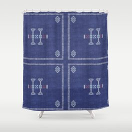 Cactus Kilim Shower Curtain