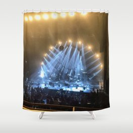 Silver & Gold Concert Shower Curtain