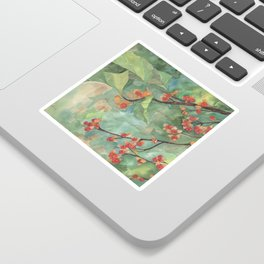 Bittersweet Berries Leaves and Branch Sticker