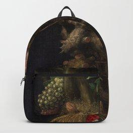 Giuseppe Arcimboldo - Four Seasons in One Head Backpack