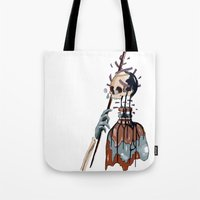 native Tote Bags featuring Native  by PAFF