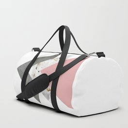 Blossoms Arrows Collage Duffle Bag