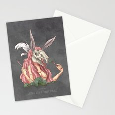 Long live the dead - Rabbit Stationery Cards
