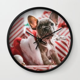 Sweet bulldog Wall Clock