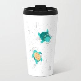 Space Turtles Travel Mug
