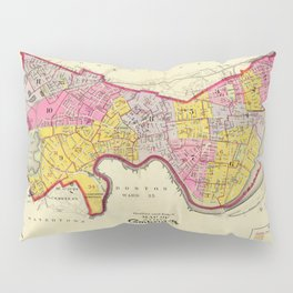 Cambridge Massachusetts 1903 Pillow Sham