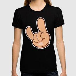 ROCKY DEVIL HANDS T-shirt