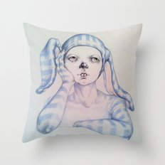 The one who waited Throw Pillow