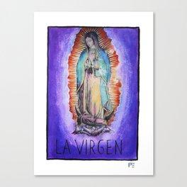 La Virgen Canvas Print