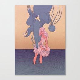Liquid Creatures Canvas Print