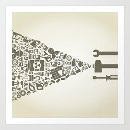 Industry2 Art Print