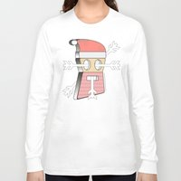 merry christmas Long Sleeve T-shirts featuring Merry christmas by AmDuf