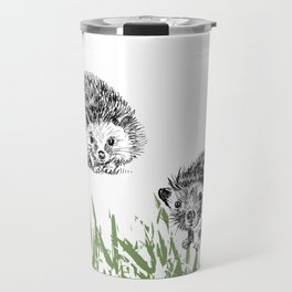 Hedgehogs print Travel Mug