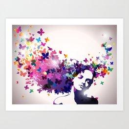 """""""Mind Blown"""" Art Print"""