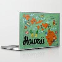 hawaii Laptop & iPad Skins featuring HAWAII by Christiane Engel