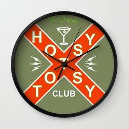 The Original Hotsy Totsy Club Wall Clock
