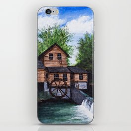 Alley spring mill iPhone Skin