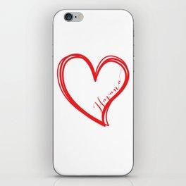 Half of my heart is in Havana iPhone Skin
