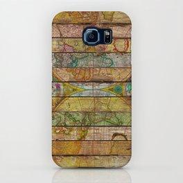 Around the World in Thirteen Maps iPhone Case