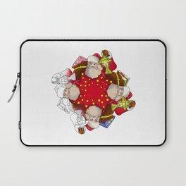 Santa Claus Mandala Laptop Sleeve