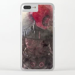 Guavian Enforcer Clear iPhone Case