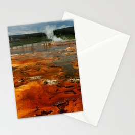 Awesome Geyser Colors Stationery Cards