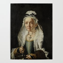 Portrait of an Old Lady Poster