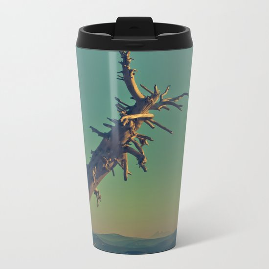 masonry  Metal Travel Mug